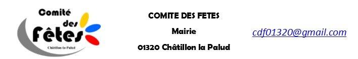 Comite des Fêtes  – Châtillon la Palud
